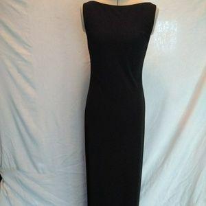 Laundry by Shelli Segal Long Black Formal Dress